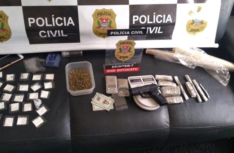 """DISE acaba com """"disk-entrega"""" de droga durante operação em Rubião Junior"""