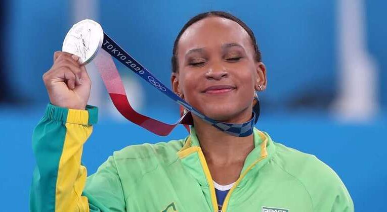 Brasil sobe no quadro de medalhas com pódios na ginástica e no judô