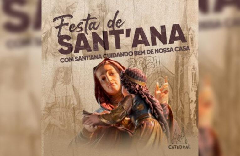 'Adaptada' à pandemia, Festa de Sant'Ana começa hoje em Botucatu