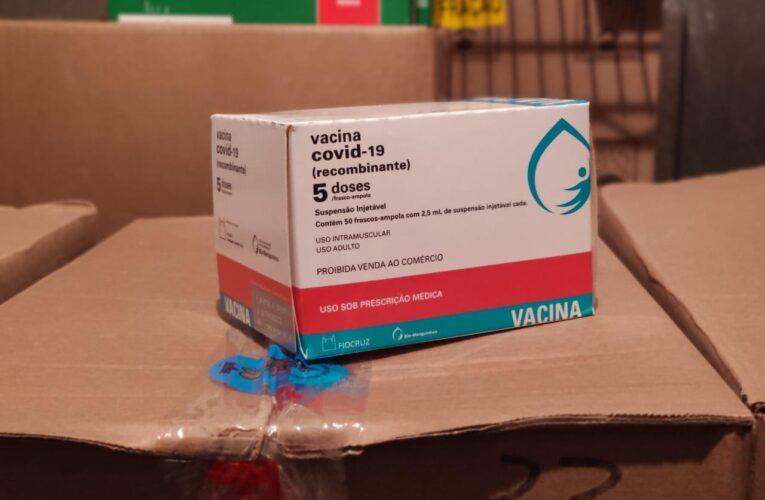 Doses para segunda etapa de vacinação em massa já estão em Botucatu