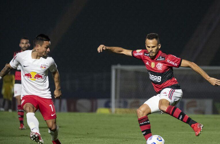 Flamengo fica no empate com o Bragantino no Brasileiro