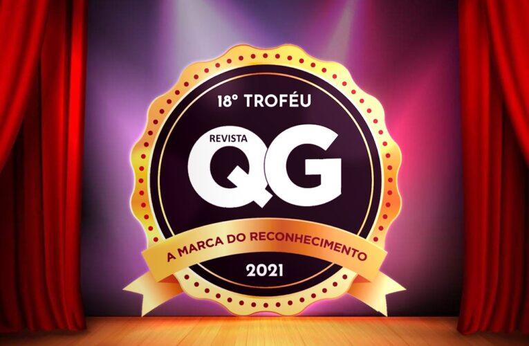 Revista QG promove 18ª edição do Troféu QG, com homenagem a empresas e profissionais de destaque